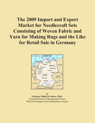 The 2009 Import and Export Market for Needlecraft Sets Consisting of Woven Fabric and Yarn for Making Rugs and the Like for Retail Sale in Germany