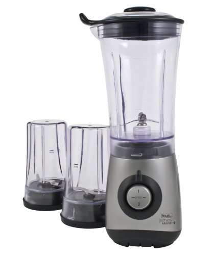 James Martin by Wahl Mini Blender  Chopper   Grinder All In One 350W Titanium ZX689