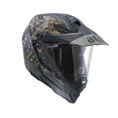 AGV-Casco-Helmets-7611a2d0007-integrales-AX-8-Dual-Evo-E05-diseo-Grunge-Matt-multicolor