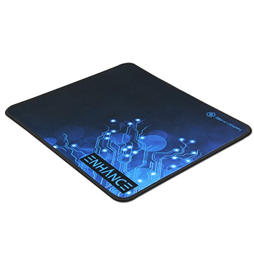 """Enhance Rubber Mat Gaming Mouse Pad Xl Pro 12.6"""" X 10.6"""" With Non-Slip Natural Rubber Base, Anti Fray Stitching, Low Friction Surface Fabric - Works With Titanfall , Dota 2, League Of Legends, Battlefield 4 , Diablo 3 , Call Of Duty: Advanced Warfare , St"""