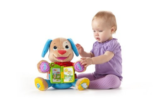 Fisher-Price Laugh And Learn Singin' Storytime Puppy Customerpackagetype: Standard Packaging Toy, Kids, Play, Children front-725909
