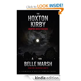 HOXTON KIRBY - BLOOD RED SHEETS (Cusworth and Kaelly Mysteries)