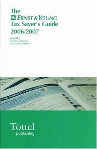 the-ernst-young-tax-savers-guide-2006-07