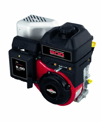 Briggs and Stratton 12S452-0049-F8 900 Series Intek I/C 205cc 9.00 Gross Torque Engine with a 6:1 Gear Reduction Gear Shaft 3/4-Inch Diameter 2-Inch Length Crankshaft, Keyway picture
