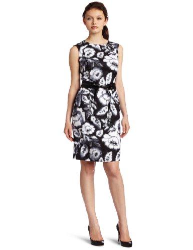 Donna Morgan Women's Sleeveless Linen Dress