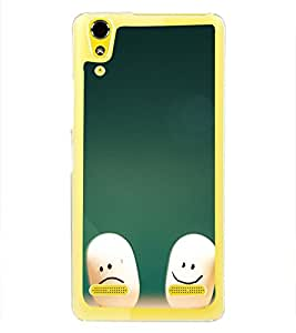 Smilies 2D Hard Polycarbonate Designer Back Case Cover for Lenovo A6000 :: Lenovo A6000 Plus :: Lenovo A6000+