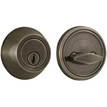Weslock 271 Single Cylinder Deadbolt From The Reliant Collection, Antique Brass Color: Antique Brass, Model: 00271...