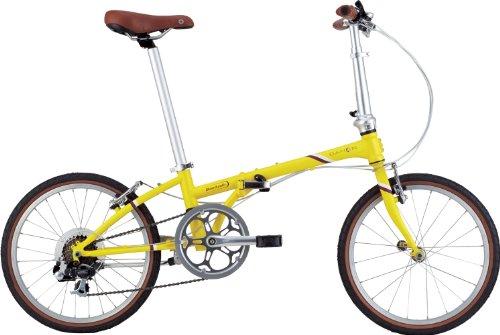 DAHON(ダホン) Boardwalk D7 [折りたたみ自転車 7Speed] 2014年モデル マットレモン HAC072