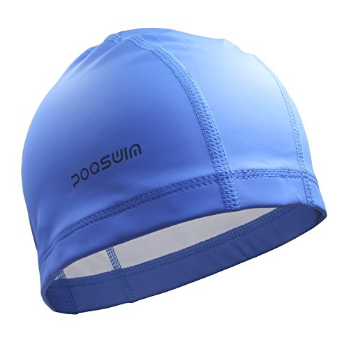 lycra-swim-cap-with-pu-coat-blue