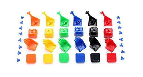 Dayan Guhong I Diy 3X3X3 Brain Teaser Magic Iq Cube Complete Kit-Guhong I, Black - (Premium Quality)