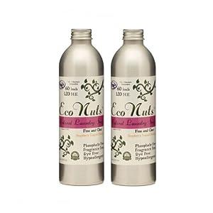 Eco Nuts Natural Liquid Laundry Detergent, 10oz , 2 Pack