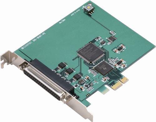 コンテック 絶縁型デジタル入出力ボード PCI Express DIO-1616T-PE