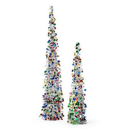 3 Ft Silver Christmas Tree