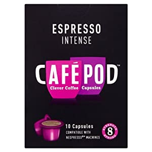 CafePod Nespresso Compatible Intense Coffee Capsules 10 per pack