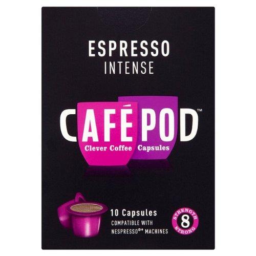 CafePod Nespresso Compatible Intense Coffee Capsules 10 per pack