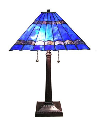 Tiffany-Style Gothique Table Lamp front-1010912