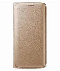 Dashmesh Shopping Premium Durable Leather Flip Cover Case For Samsung Galaxy C5 - GOLD