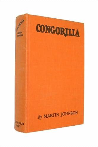 Congorilla;: Adventures with pygmies and gorillas in Africa