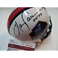 Harry Carson NEW York Giants Hall of Fame Signed Autographed Mini Helmet Authentic Certified JSA Coa