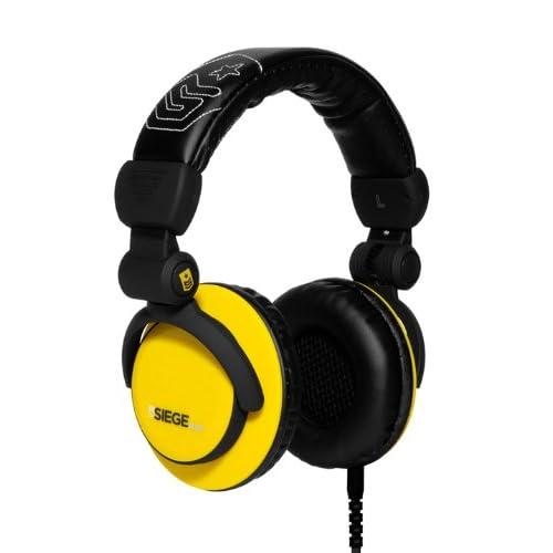 ヘッドホン おしゃれ SIEGE ELEVEN(SA-EVN901) ヘッドフォン Yellowをおすすめ
