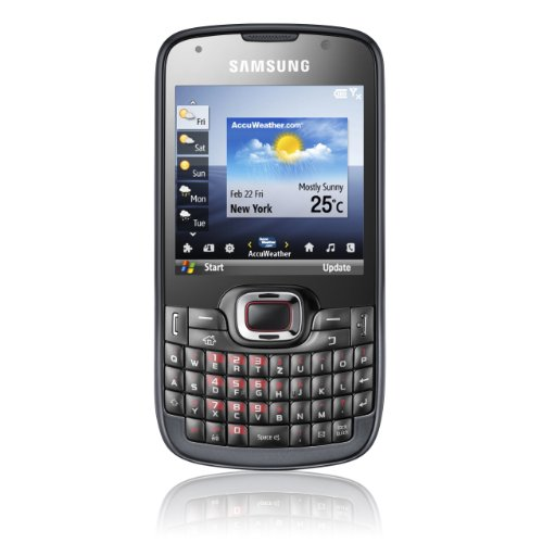 Samsung Omnia Pro B7330 Smartphone (QWERTZ-Tastatur, Windows Mobile 6.5, 3.2MP Kamera, GPS) schwarz