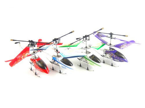 Newest NC Model Gyro 3.5 Channels Metal RC Helicopter - Free USB & AC Charger - Value of $14 -