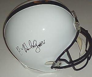CHRISTIAN HACKENBERG signed *PENN STATE NITTANY LIONSF S football helmet W COA -... by Sports+Memorabilia