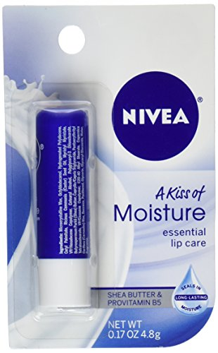 NIVEA Moisture Lip Care, 0.17 Ounce Stick (Pack of 6)