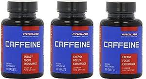 Prolab Caffeine 100 Tablets 3 Pack