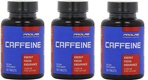 Prolab Caffeine 100 comprimés Pack 3
