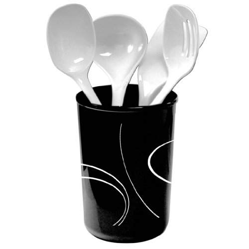 Corelle Coordinates Simple Lines 5 Piece Utensil Set