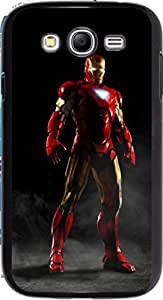 Dot Print Back Cover For Samsung Galaxy Mega 5.8 GT-I9150 Iron Man Armor Printed Case