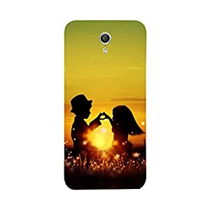 Phone Candy Designer Back Cover with direct 3D sublimation printing for Lenovo Zuk Z1