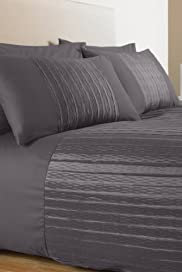 Textured Pleat Bedset [T35-1724B-S]