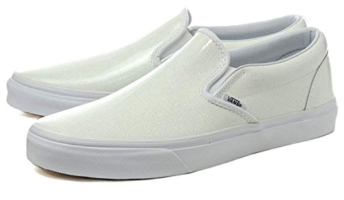 [バンズ] VANS CLASSIC SLIP-ON (PATENT GALAXY) TRUE WHITE スリッポン vn03dvhvr