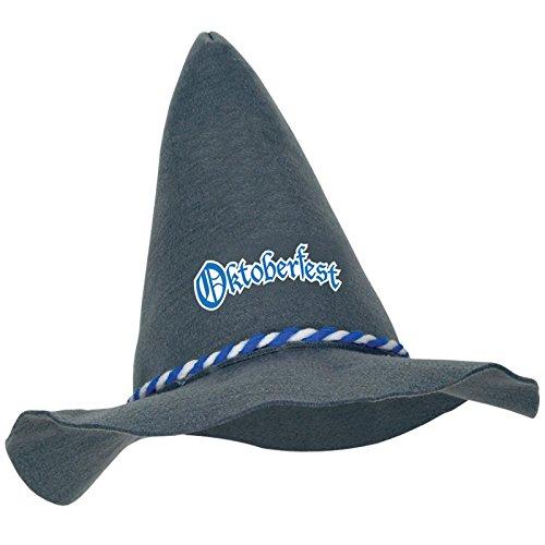 Beistle 60917 Felt Oktoberfest Peasant Hat