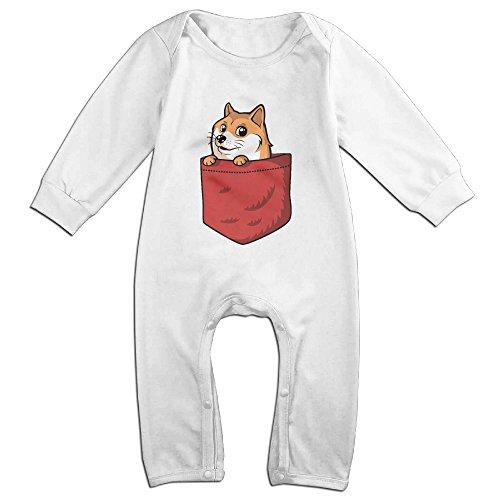 cute-pocket-doge-romper-for-toddler-white-size-18-months