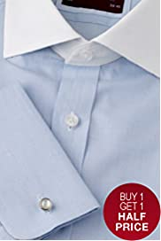 Sartorial Pure Cotton Long Sleeve Winchester Shirt