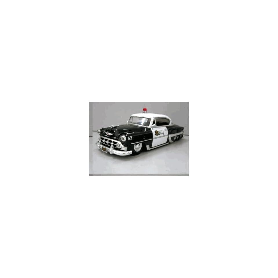 JADA 1/24 1953 Chevy Bel Air County Sheriff Car