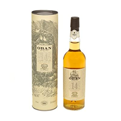 Oban 14 year old Single Malt Scotch Whisky 20cl Bottle from Oban
