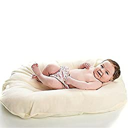 Snuggle Me Wool   Infant Lounging and Bed Sharing Cushion