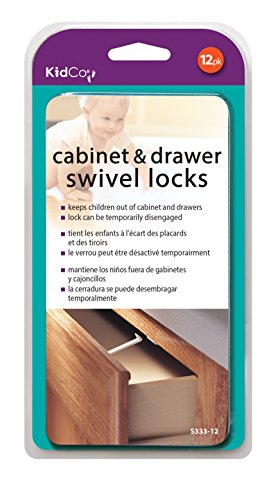 KidCO 12 Count Swivel Cabinet and Drawer Lock - 1