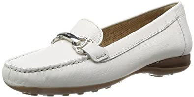 Geox D Euro A, Mocassins femme: Chaussures et Sacs