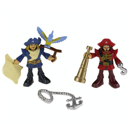 Imaginext Pirate Ship Captain & Officer