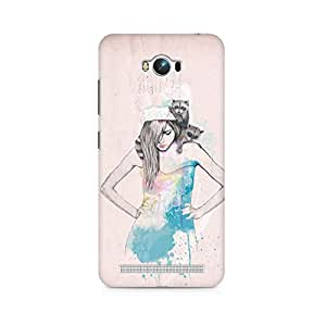 Mobicture Girl Abstract Premium Printed Case For Asus Zenfone Max