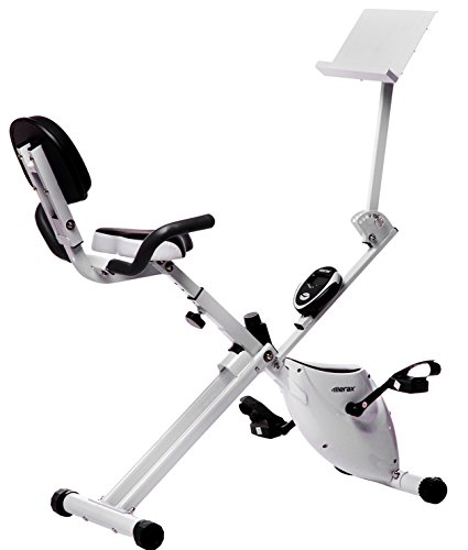 Merax® Folding Magnetic Upright Exercise Bike