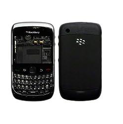 New Housing Body Panel - For Blackberry Curve 9300 - Black