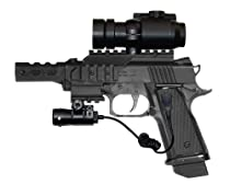 Daisy Powerline 5170 - .177 Caliber - Co2 BB Pistol w/ BBs, Co2, Laser and Dot Sight (*)