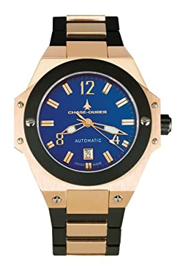 Chase-Durer Men's 881.88LP-BRA Conquest Automatic Limited Edition No. 2 18K Rose Gold-Plated Watch by Chase Durer