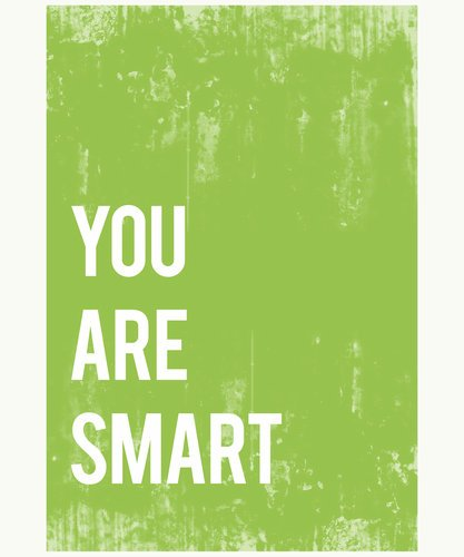 You Are Smart Wall Art Print 11X14, Typography, Nursery Decor, Kid'S Wall Art Print, Gender Neutral, Kid'S Room Decor, Motivational Word Art, Inspirational Artwork For Kids, Baby Room Decor, Playroom Decor, Classroom Decor, Teenager'S Room Decor, Eco Frie